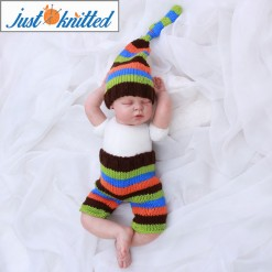 sriped baby 2 piece costume