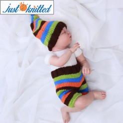 Baby-crochet-costume-striped-2pc