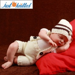 Baby-crochet-knitted-white-coffee-hat-suspender-picture-baby-outfits-2