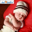 Baby-crochet-knitted-white-coffee-hat-suspender-picture-baby-outfits-5