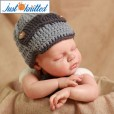 Crochet-gentlemen-outfit-baby-boys-hat-and-tie-knitted-cute-gray-caps-2