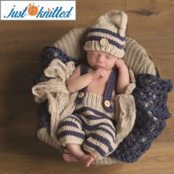 blue stripe babywear