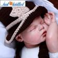 Newborn-baby-cowboy-costume-crochet-knitting-3pcs-set-2