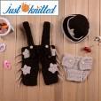 Newborn-baby-cowboy-costume-crochet-knitting-3pcs-set-5