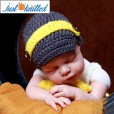 Newborn-baby-dungarees-with-bow-tie-5