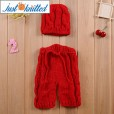 Newborn-crochet-baby-costume-set-red-hat-and-pants-5