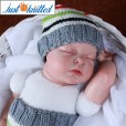 crochet-infant-costume-white-striped-hat-and-pants-pictures-baby-clothes 2