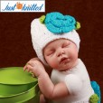 newborn-baby-girl-crochet-knit-blue-flower-beanies-diaper-3