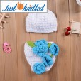 newborn-baby-girl-crochet-knit-blue-flower-beanies-diaper-5