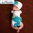 newborn-baby-girl-crochet-knit-blue-flower-beanies-diaper-6